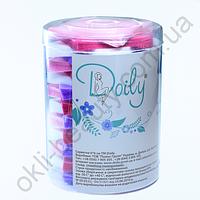 Салфетки 6х6 см Doily (400 шт в тубусе) из спанбонда 45 г/м²