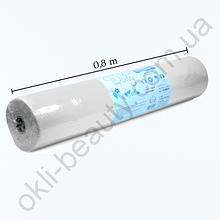 Простыни Doily одноразовые в рулоне 0,8x100 м. из спанбонда 25г/м2 (белые)