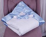 Демисезонный комплект одежды для новорожденных Стиль, белый с голубым, фото 6