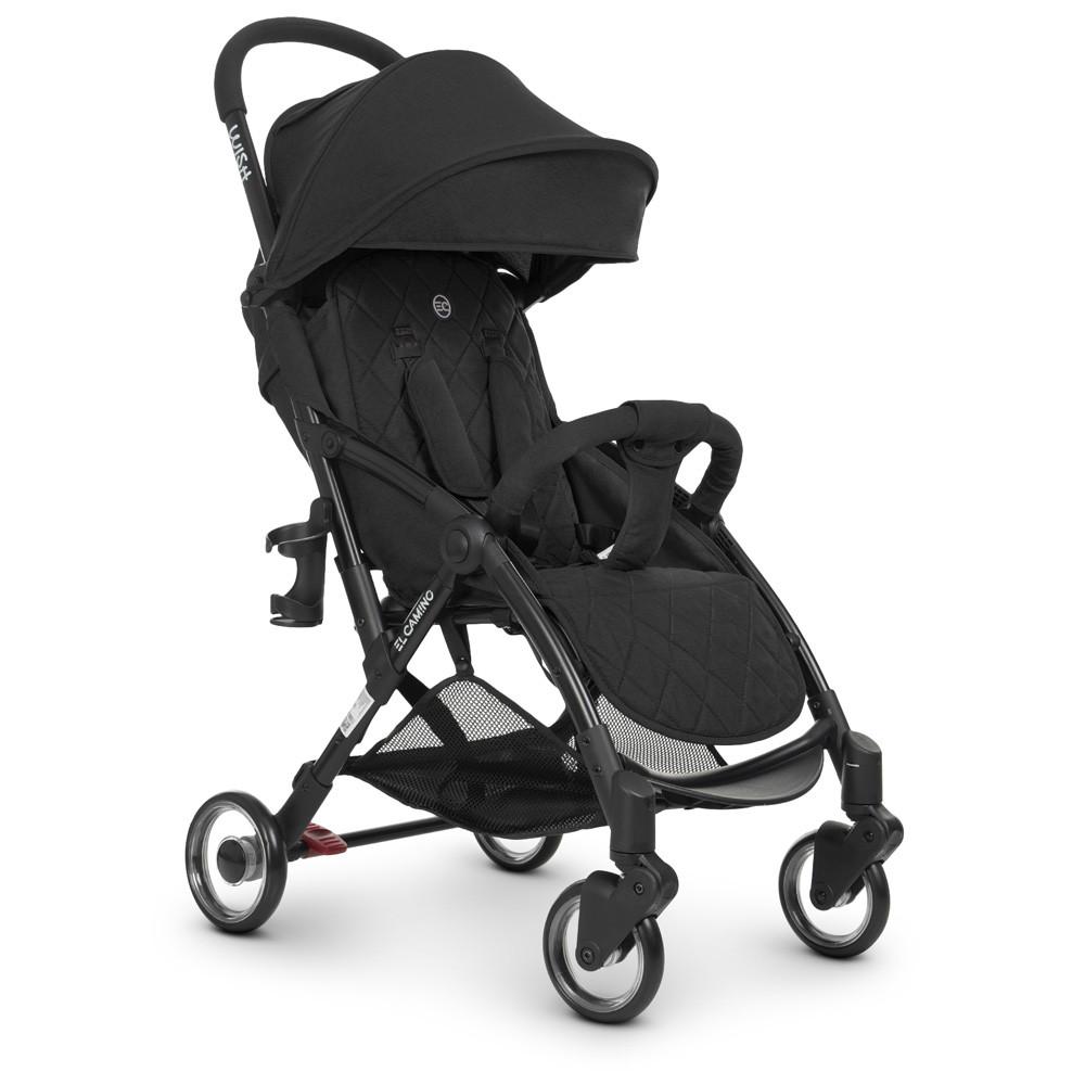 Прогулочная детская коляска El Camino ME 1058 Black черный