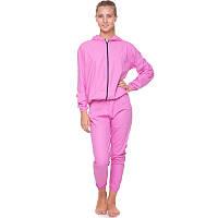 Костюм сауна для похудения Весогонка Sauna Suit Zelart PVC PL Розовый (СПО ST-2052) L (46-48), фото 1