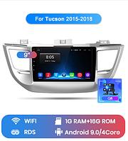 Junsun 4G Android магнитола для hyundai tucson IX35 2016 - 2019 wi-fi