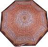 Коричневый женский зонт, полуавтомат, антиветер AIRTON (АЭРТОН) Z3615-71