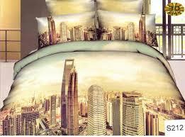 Сатиновое постельное белье евро  3Д ELWAY  S212