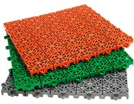 Модульное пластиковое покрытие СТЭП 330х330х15 мм