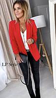 Женский стильный удлиненный пиджак