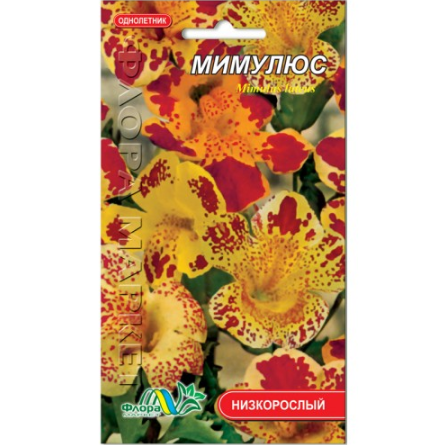 Мимулюс цветы однолетние, семена 0.05 г