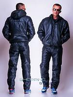 Мужской спортивный костюм с утеплителем