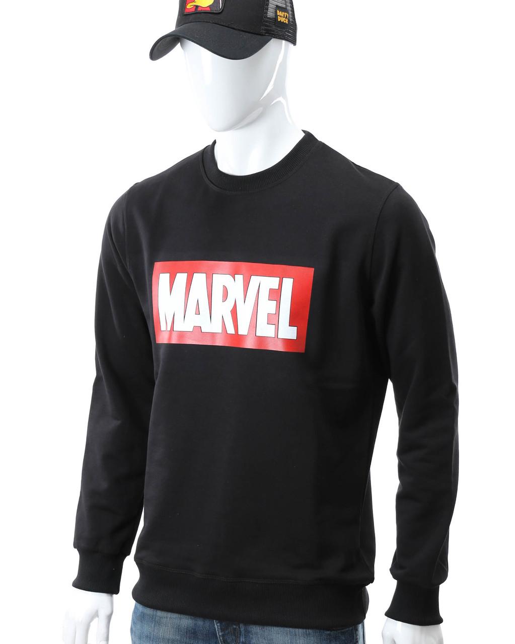 Свитшот черный MARVEL с лого BLK M(Р) 18-502-001