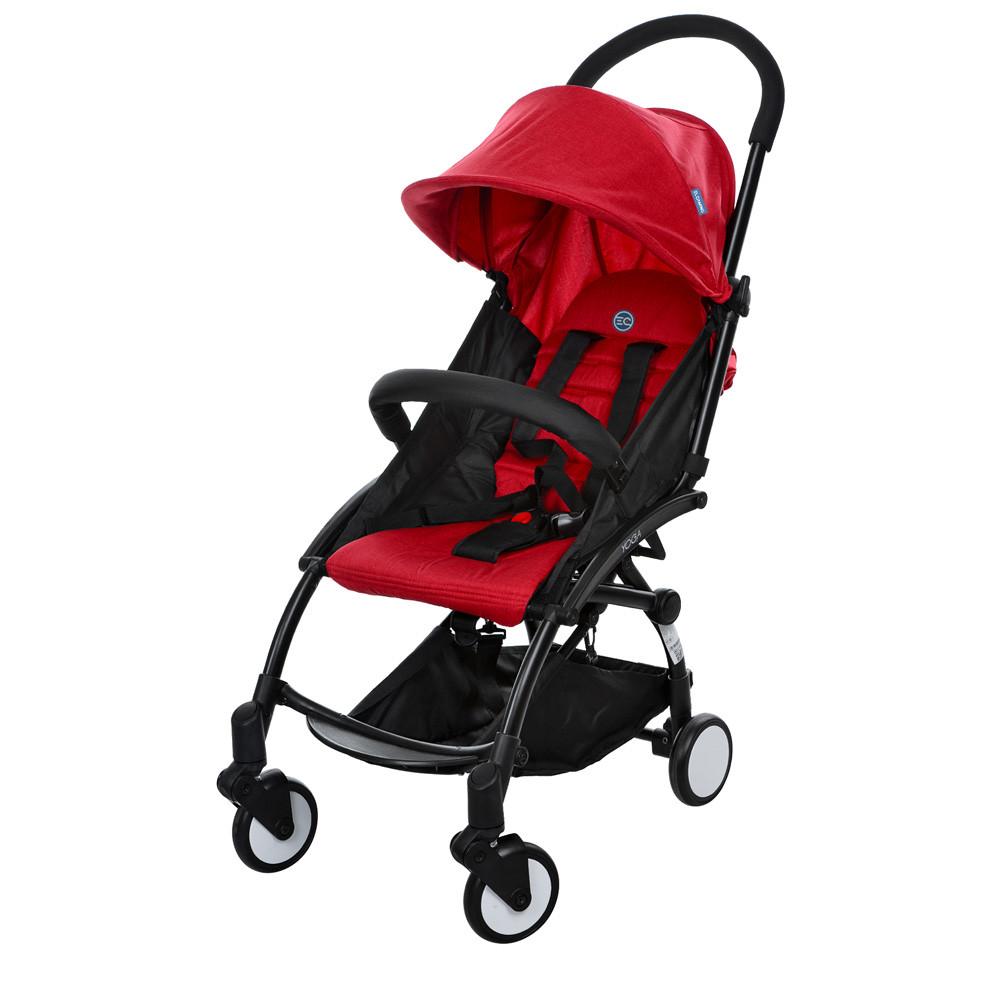 Детская прогулочная коляска El Camino  M 3548-3  красный