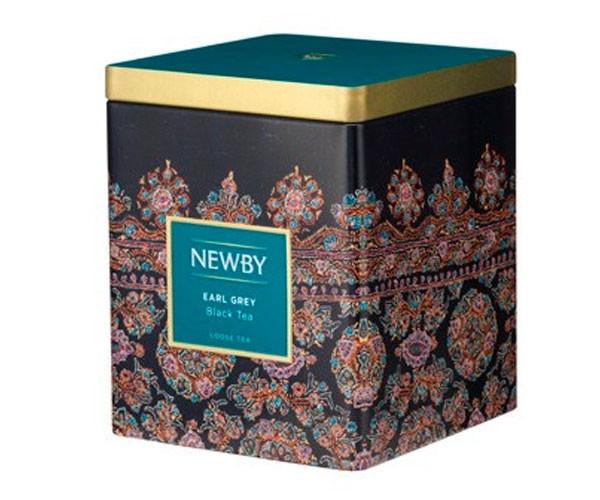 Черный чай Newby Ерл Грей ж/б 125 г (130060А)