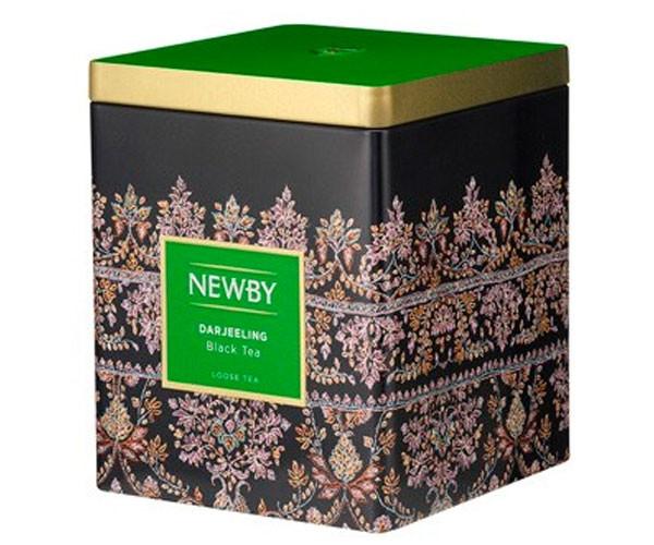 Черный чай Newby Дарджилинг ж/б 125 г (130020А)