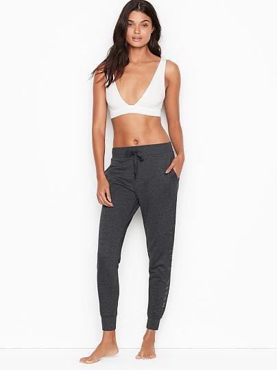 Спортивні штани Victoria's Secret Essential Jogger р. М, Темно-сірі