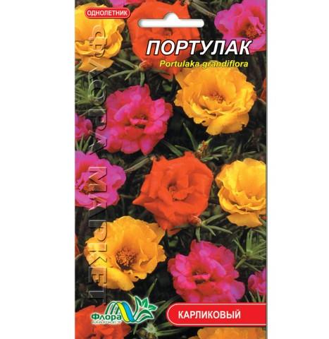 Портулак смесь цветы однолетние, семена 0.1 г