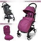 Детская прогулочная коляска  El Camino M 3548-9-2  фиолетовый, фото 4