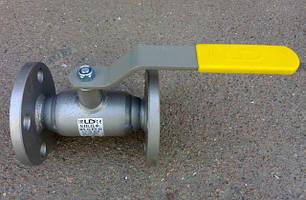 Кран шаровый фланцевый стальной полнопроходной LD