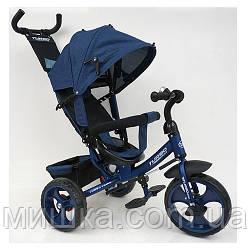 Дитячий триколісний велосипед M 3113-11L, колеса EVA, синій