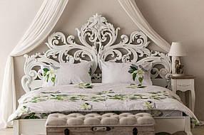 Комплект постельного белья Prestige двуспальный 175х215 см флюрес SKL29-150453