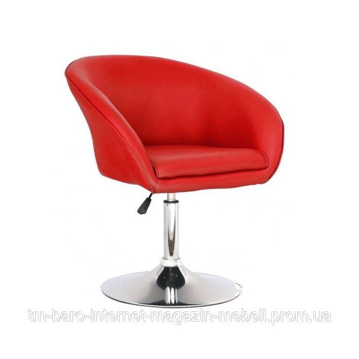 Кресло Мурат, красный кожзам
