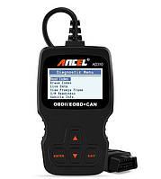 Компактный автомобильный сканер автосканер диагностики авто OBD-2 EOBD ANCEL AD310