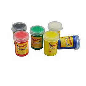 Краски Malinos пальчиковые Fingerfarben непроливаемые, в наборе 6 цветов SKL17-149642