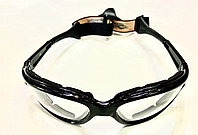 Окуляри захисні на гумці з прозорими лінзами