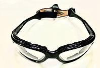 Окуляри захисні на гумці з прозорими лінзами, фото 1