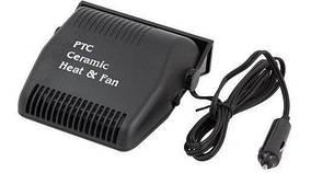 Автомобильный обогреватель салона от прикуривателя автофен ABX Ceramic Heat&Fun701 12V DC