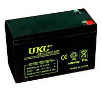 Аккумулятор аккумуляторная батарея UKC 12V 7.2Ah WST-7.2 RC201502