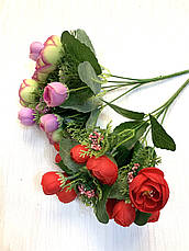Ранункулюс декоративный с добавками ( 30 см), фото 3