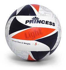 Мяч волейбольный Princess Light 5 оранжевый