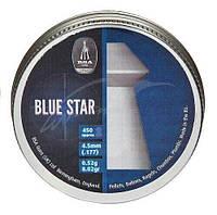Пули пневматические BSA Blue Star 4.5 мм 0.52 г, 450шт/уп (740)