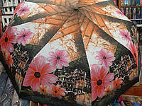 Качественный женский зонт полуавтомат Zicco Польша