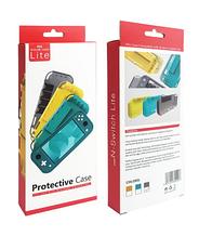 Защитный чехол с ручками для Nintendo Switch Lite / Есть стекла /