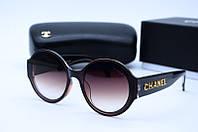 Солнцезащитные очки квадратные Ch 0654 коричневые
