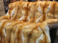Покрывала из меха лисы