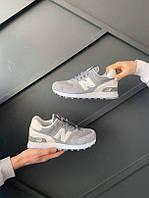 Женские кроссовки  New balance 574 grey (копия)
