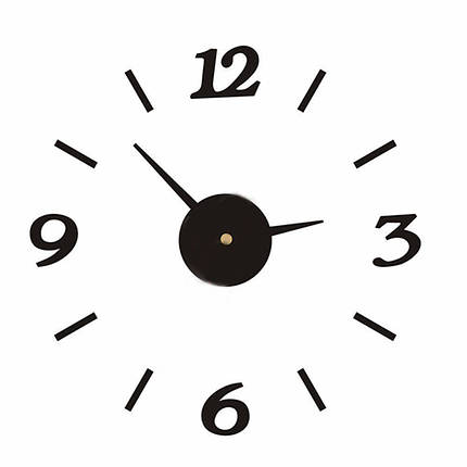 Настенные 3D часы от 60 до 90 см (ZH528-B), фото 2