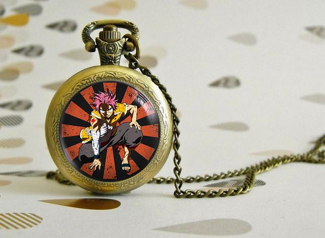Карманные часы Хвост Феи Нацу