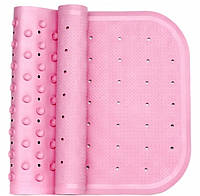 Антискользящий коврик на дно ванны розовый, KinderenOK (071113_004)