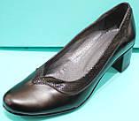 Туфлі жіночі на середньому каблуці від виробника модель КС11, фото 6