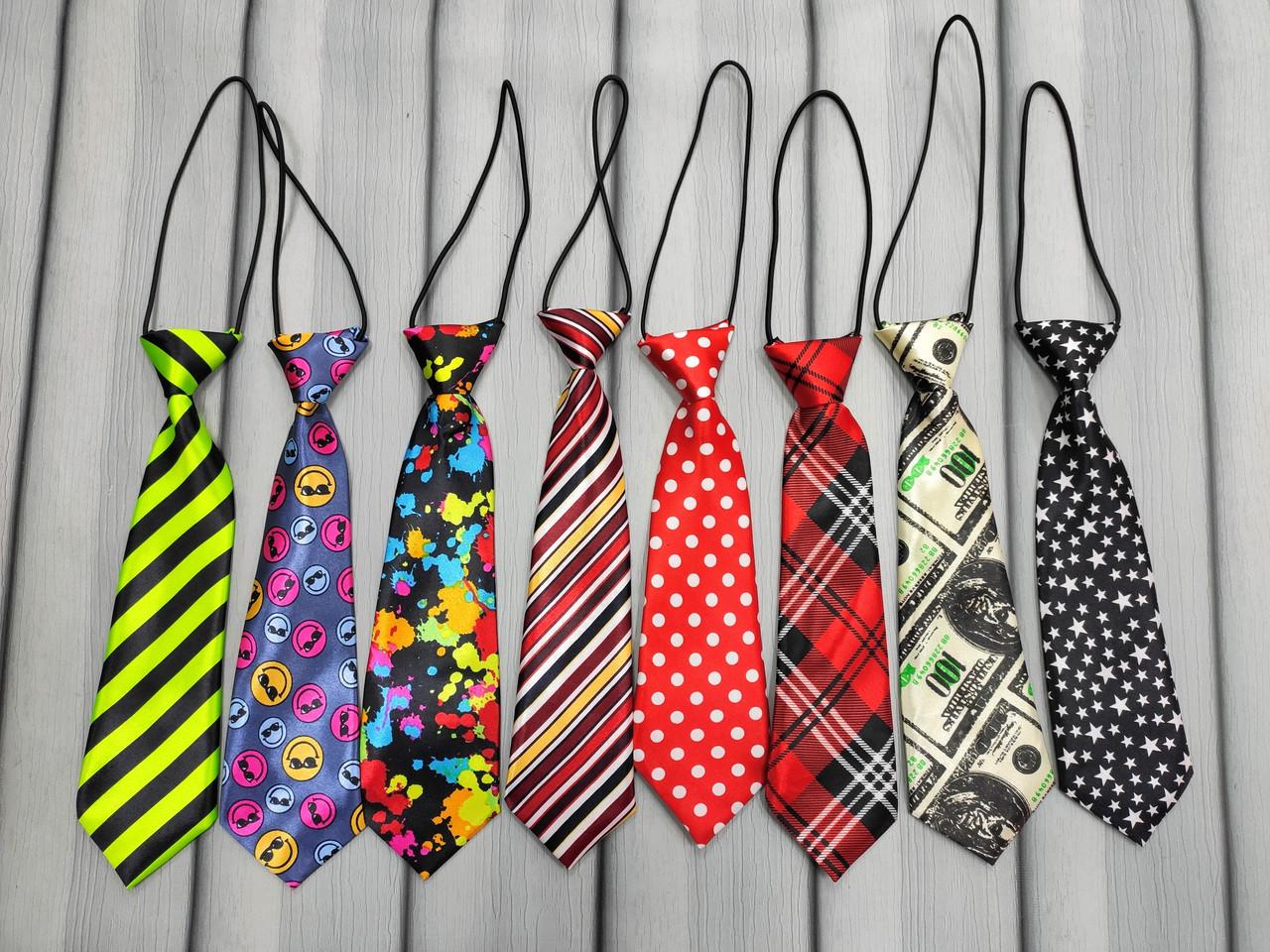 Яркие галстуки