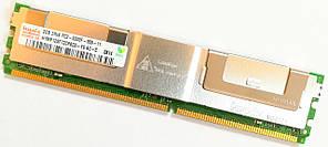 Серверная оперативная память Hynix FBD DDR2 2Gb 667MHz 5300 CL5 2R4 ECC MIX Б/У