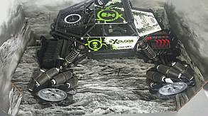 Машинка на радиоуправлении 4WD 116 Дрифт под углом 90 градусов зеленая SKL37-218621, фото 2