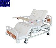 Медицинская кровать с туалетом E20. Электро Кровать. Функциональная кровать. Для реабилитации инвалида., фото 4