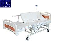 Медицинская кровать с туалетом E20. Электро Кровать. Функциональная кровать. Для реабилитации инвалида., фото 5