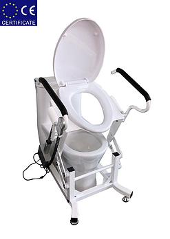 Кресло для туалета подъемным устройством стационарноеLWY-001.