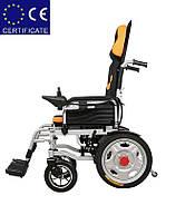 Складаний електричний візок інвалідний D-6036A. Інвалідна коляска. Крісло коляска., фото 3