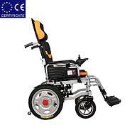 Складная инвалидная электроколяска D-6036A. Инвалидная коляска. Кресло коляска., фото 4