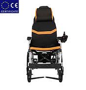 Складаний електричний візок інвалідний D-6036A. Інвалідна коляска. Крісло коляска., фото 5